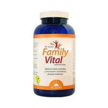 FamilyVital pełen zdrowia napój kakaowy dla całej rodziny Dr. Jacob's