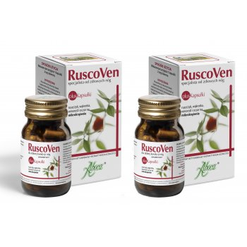 Aboca RuscoVen Kapsułki Dwa Opakowania na żylaki hemoroidy