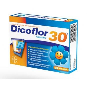 Dicoflor 30 LGG kapsułki