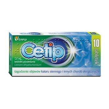 Cetip lek na alergię z cetyryzyną