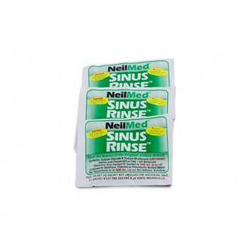 Sinus Rinse zestaw hipertoniczny saszetki