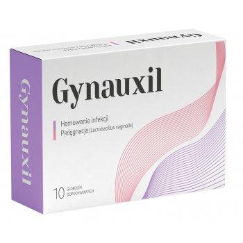 Gynauxil globulki nawilżające i zwalczające infekcje