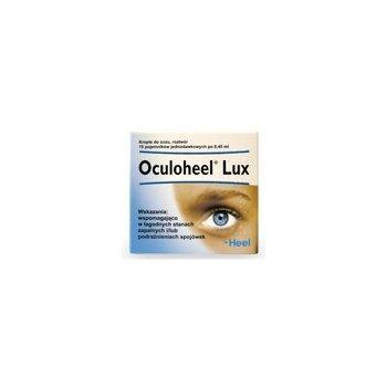 Oculoheel Lux zapalenie, podrażnienie spojówek