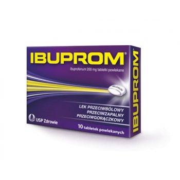 Ibuprom 200 mg 10 tabletek