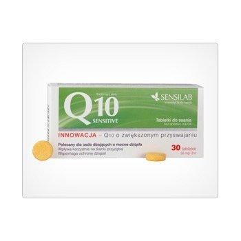 Q10 Sensitive Koenzym Q10 do ssania Sensilab