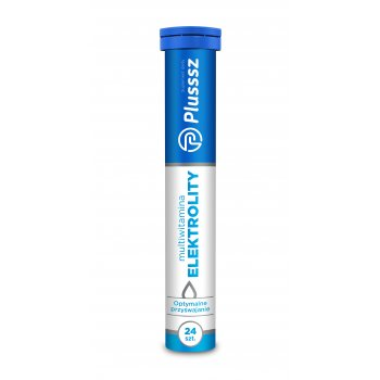 Plusssz Elektrolity z multiwitaminą tabletki musujące