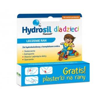 Hydrosil żel na rany dla dzieci