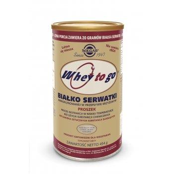 Solgar Białko Serwatkowe Whey To Go 425 g