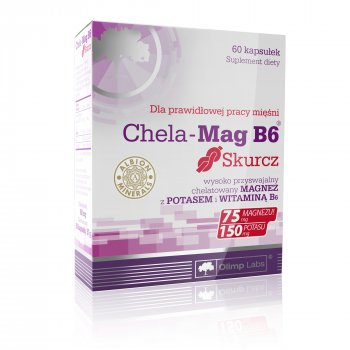 Olimp Chela-Mag B6 Skurcz Magnez i Potas