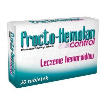 Procto-Hemolan Control tabletki na hemoroidy