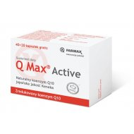 Farmax Q Max Active Koenzym Q10 Ubichinol Kaneka