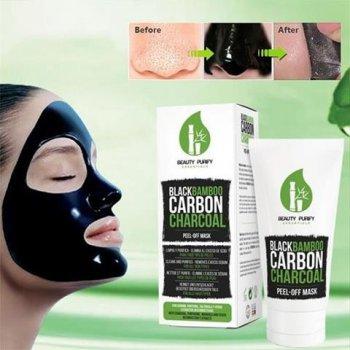 Czarna Maska Peel-Off Black Bamboo Mask