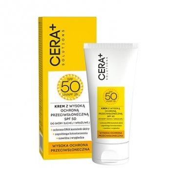 Cera+ Krem SPF50 do skóry suchej i wrażliwej