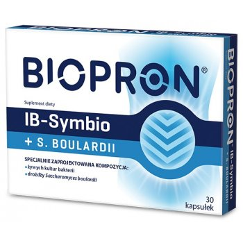 Biopron IB-Symbio + Saccharomyces Boulardi probiotyk z drożdżami
