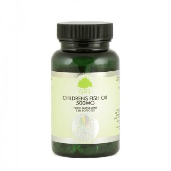 Children's Fish Oil G&G Omega-3 dla dzieci 120 kapsułek