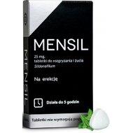 Mensil Syldenafil rozpuszczalna w ustach tabletki na potencję