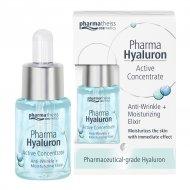 Pharma Hyaluron Koncentrat Przeciwzmarszczkowy + Nawilżenie