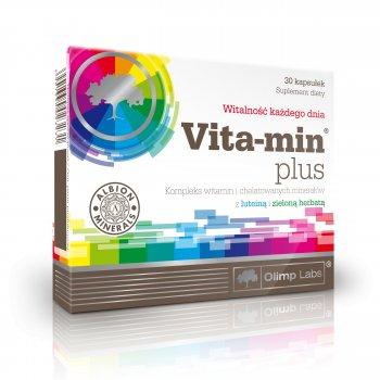 Olimp Vita-Min Plus z Luteiną i Zieloną Herbatą