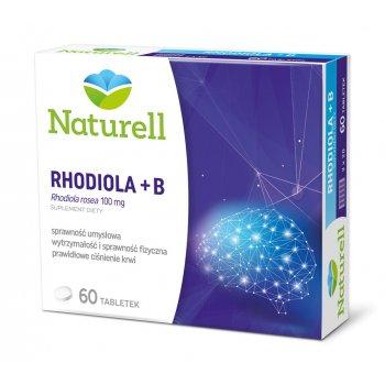 Naturell Rhodiola + B Różeniec górski z witaminami B