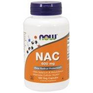 NOW NAC N-acetylo N-cysteina 600 mg