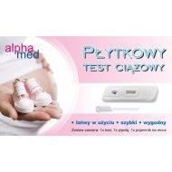 Test Ciążowy AlphaMed Płytkowy
