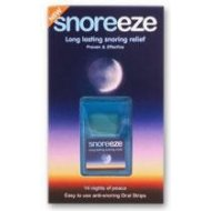 Snoreeze - listki doustne przeciw chrapaniu