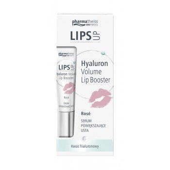 Lips Up Hialuronowe Serum Rose Powiększające Usta PharmaTheiss
