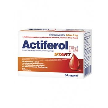Actiferol Fe Start 7 mg Żelaza w saszetkach
