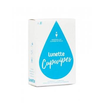 Lunette Chusteczki Do Czyszczenia Kubka w Podróży CupWipes