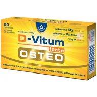 D-Vitum Osteo Forte Witaminy D3 K2 i Wapń