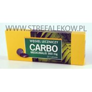 Carbo medicinalis 20 tabletek