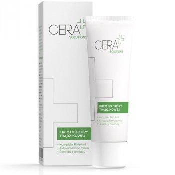 CERA+ Solutions Krem do skóry trądzikowej