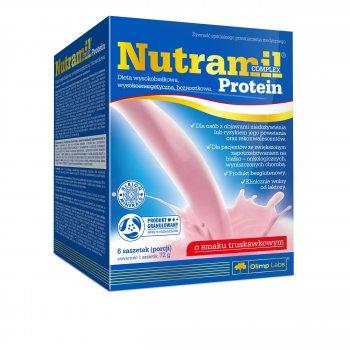 Olimp Nutramil Complex Protein Waniliowy Truskawkowy