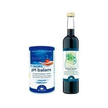 Kuracja Dr. Jacob'a płyn i proszek dla odkwaszania organizmu, odchudzania i pobudzenia metabolizmu Dr. Jacob's
