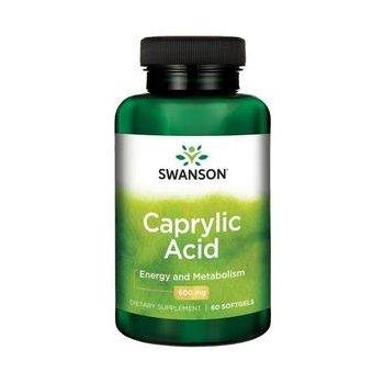 Kwas Kaprylowy 600 mg Swanson
