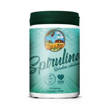 Spirulina Organic 410 tabletek This Is Bio
