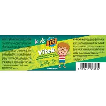 Kids Vitek Multiwitamina od 3 roku życia etykieta