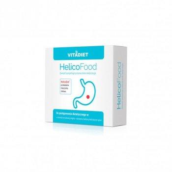 HelicoFood Saszetki na wrzody żołądka Helicobacter Pylori