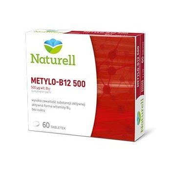 Naturell Metylo-B12 500 Aktywna Witamina B12
