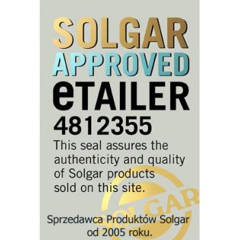 Solgar Approved eTailer