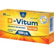D-Vitum forte witamina D3 1000 jednostek