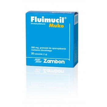 Fluimucil MUKO ułatwia odksztuszanie zmniejsza lepkość śluzu