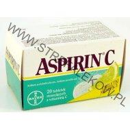 Aspirin C 20 tabletek