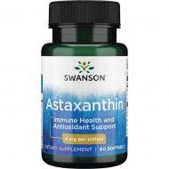 Astaksantyna Swanson Astaxanthin 4 mg