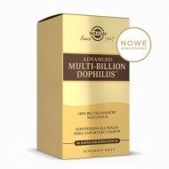 Solgar Advanced Multi-Billion Dophilus nowe opakowanie zewnętrzne