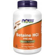 NOW Foods Betaine HCl Wspomaga Trawienie