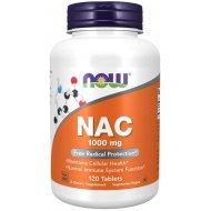 Now Foods NAC 1000 mg N-Acetylo Cysteina 100 Tabletek