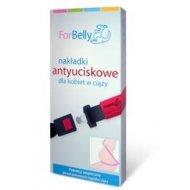 ForBelly nakładki antyuciskowe dla kobiet w ciąży - czarne