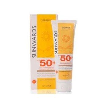 Sunwards Krem SPF 50+ bardzo wysoka ochrona i nawilżenie skóry twarzy SYNCHROLINE