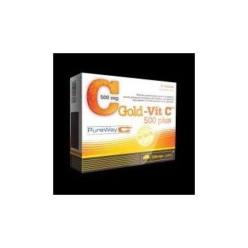 Gold-Vit C 500 Plus dobrze przyswajalna witamina C Pure Way Olimp Labs